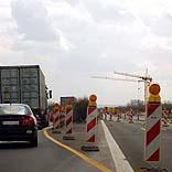 Baustelle auf der Autobahn - © Claudia Hautumm / Pixelio.de