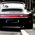 Breitreifen an einem Porsche - © Hartmut 910 / Pixelio.de