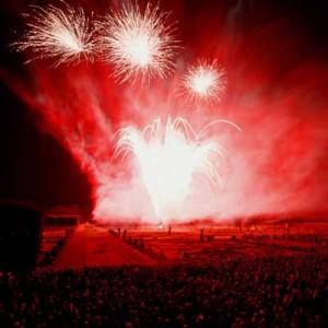 Feuerwerk in Hannover-Herrenhausen - © auto-reise-welt.de