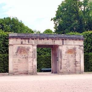 Portal der ehemaligen Schlosstreppe - © auto-reise-welt.de