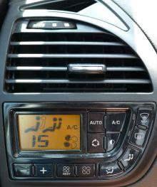Klimaanlage im Auto - eigenes Foto