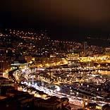 Monaco bei Nacht - © Bastian Schaefer / Pixelio.de
