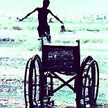 Urlaub mit Rollstuhl -  - © prudential / Photocase.de