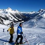 Skifahren im Januar in Österreich - © Rainer Sturm / pixelio.de