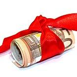 Geld geschenkt - © Benjamin Klack / pixelio.de