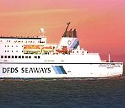 Autofähre von DFDS Seaways - © Guenter Hamich / pixelio.de