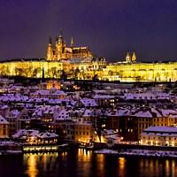 Prag bei Nacht - © Martin Fels / pixelio.de