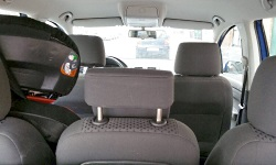 Blick in einen VW Touran / eigenes Foto