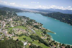 Luftaufnahme von Krumpendorf - Quelle: gemeinfrei