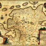 Ostfriesland-Karte, um 1600 gezeichnet von Ubbo Emmius, © gemeinfrei