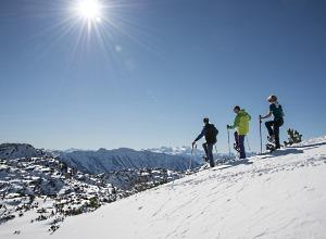 Schneeschuhwandern am Feuerkogl - © STMG, Fotograf: Wolfgang Stadler