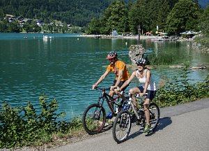 Radfahren am Mondsee - © STMG/Stadler, Fotograf: Wolfgang Stadler